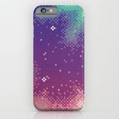Rainbow Nebula (8bit) iPhone 6 Slim Case