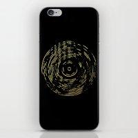 Gold Disc iPhone & iPod Skin