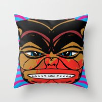 Food For the Gods Throw Pillow