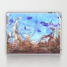 Papyrus and the mid-day sky. Laptop & iPad Skin