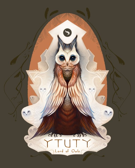 Ytuty Lord of Owls Canvas Print