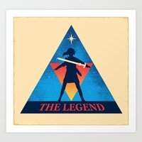 The Legend... Art Print