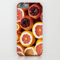 Citrus Pomegranate iPhone 6 Slim Case
