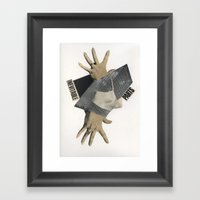 Inevitable Parts Framed Art Print