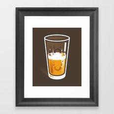 Pessimistic Optimist - alt version Framed Art Print