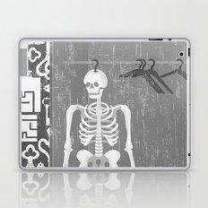 SKELETON IN THE CLOSET Laptop & iPad Skin