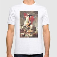 mosaic Mens Fitted Tee Ash Grey SMALL