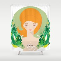 That Hot Chocolate Feeling Shower Curtain