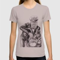 wookie wild one Womens Fitted Tee Cinder SMALL