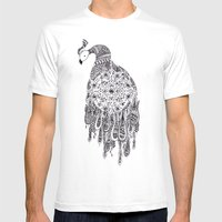 Peacocks Mens Fitted Tee White SMALL