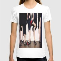 shoes T-shirts featuring Shoes by Aldo Couture