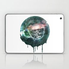 wake up with a cup of coffee Laptop & iPad Skin