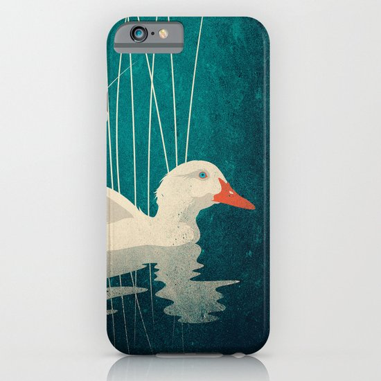 Duck Reflected iPhone & iPod Case