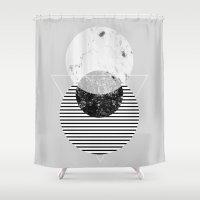 Minimalism 9 Shower Curtain
