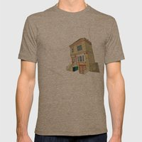 Mike's House Mens Fitted Tee Tri-Coffee SMALL