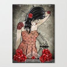 Rosa Replica Canvas Print
