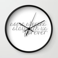 Some Stories Stay With U… Wall Clock