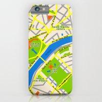 Paris Map Design iPhone 6 Slim Case