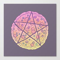 Pizza Power! Canvas Print