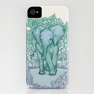 Emerald Elephant In The … iPhone (4, 4s) Slim Case