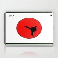 Art Of Karate Print Laptop & iPad Skin