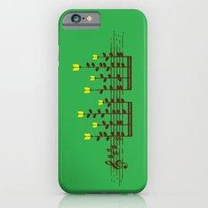 Music notes garden Slim Case iPhone 6s