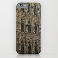 iPhone & iPod Case featuring Historical Townhall by Arts and Herbs