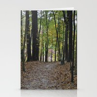 Fall Pathway Stationery Cards