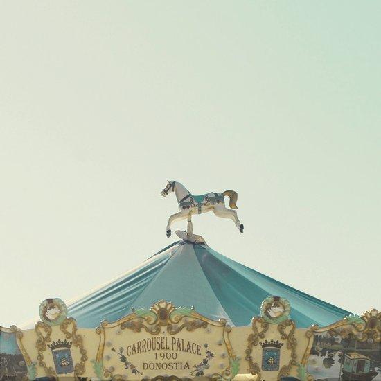 Carrousel Horse Art Print