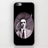 Shuddering At The Nameless Things iPhone & iPod Skin