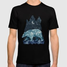 The Great Bear SMALL Mens Fitted Tee Black