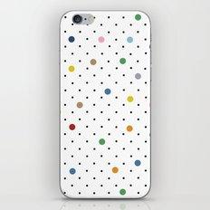 Pin Points Polka Dot iPhone & iPod Skin
