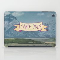 CARPE YOLO iPad Case