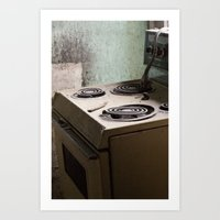river stove Art Print