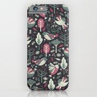 Woodland Birds iPhone 6 Slim Case