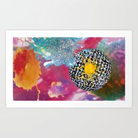 Cosmic Bleach Art Print