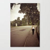 His and Her Journey.. Canvas Print