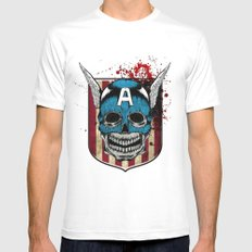 Captain-A Mens Fitted Tee SMALL White
