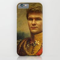 iPhone & iPod Case featuring Patrick Swayze - replaceface by replaceface