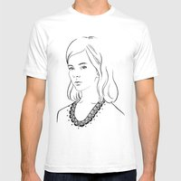 Demoiselle Mens Fitted Tee White SMALL