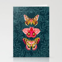 Lepidoptery No. 4 By And… Stationery Cards