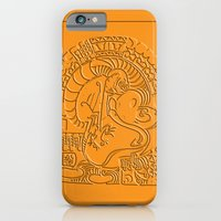 iPhone & iPod Case featuring Ren And Stimpy Polynesian tribal by Andrew Mark Hunter