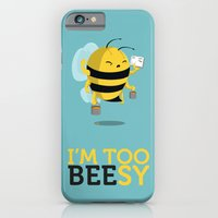 iPhone & iPod Case featuring I'm too beesy by Manolibera
