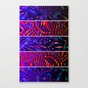 Bio Rhythm II (Five Panels Series) Canvas Print