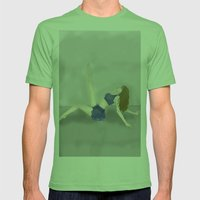 Dancing in a Fog Mens Fitted Tee Grass SMALL