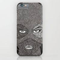 iPhone & iPod Case featuring CATWOMAN by OKAINA IMAGE