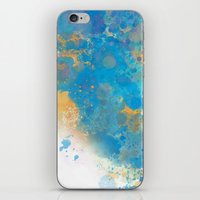 Blue Invasion  iPhone & iPod Skin