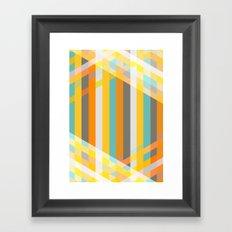 DecoStripe Framed Art Print