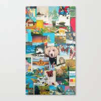 Cartes Canvas Print