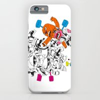 iPhone & iPod Case featuring fight the power by QN Benoit TRUONG